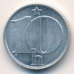 Чехословакия, 10 гелеров (1986 г.)