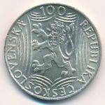 Чехословакия, 100 крон (1949 г.)