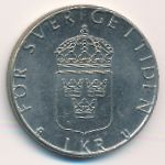 Швеция, 1 крона (1977–1981 г.)