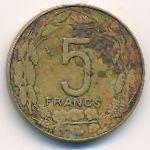 Центральная Африка, 5 франков (1978 г.)