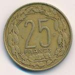 Центральная Африка, 25 франков (1984 г.)