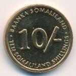Сомалиленд, 10 шиллингов (2002 г.)