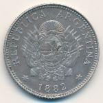 Аргентина, 20 сентаво (1882 г.)