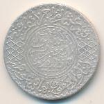 Марокко, 1/2 риала (1904 г.)
