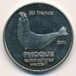 Остров Сен-Поль, 50 франков (2013 г.)