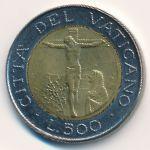 Ватикан, 500 лир (1987 г.)