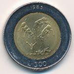 Сан-Марино, 500 лир (1983 г.)