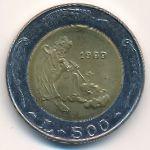 Сан-Марино, 500 лир (1989 г.)