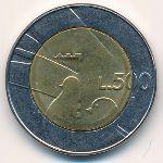 Сан-Марино, 500 лир (1990 г.)