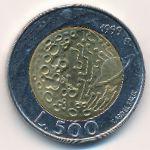 Сан-Марино, 500 лир (1999 г.)