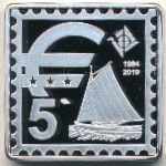 Аландские острова, 5 евро (2019 г.)