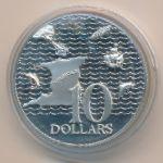 Тринидад и Тобаго, 10 долларов (1972 г.)