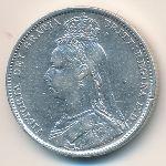 Великобритания, 1 шиллинг (1892 г.)