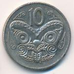 Новая Зеландия, 10 центов (1987–1989 г.)