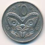 Новая Зеландия, 10 центов (1988–1989 г.)