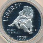 США, 1 доллар (1995 г.)