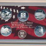США, Набор монет (2008 г.)