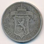 Кипр, 18 пиастров (1901 г.)