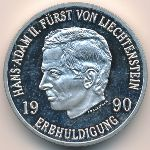 Лихтенштейн, 10 франков (1990 г.)