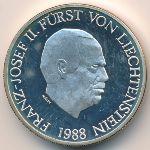 Лихтенштейн, 10 франков (1988 г.)