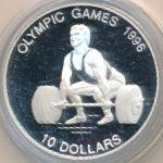 Науру, 10 долларов (1995 г.)