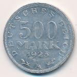 Веймарская республика, 500 марок (1923 г.)