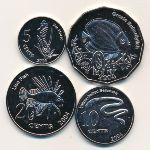 Кокосовые острова, Набор монет (2004 г.)