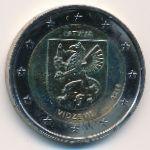 Латвия, 2 евро (2016 г.)