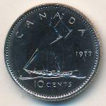 Канада, 10 центов (1977 г.)