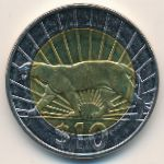 Уругвай, 10 песо (2011 г.)