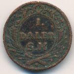 Швеция, 1 далер (1718 г.)
