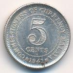 Малайя, 5 центов (1941 г.)