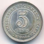 Малайя, 5 центов (1943–1945 г.)