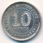 Малайя, 10 центов (1939–1941 г.)