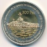 Остров Европа, 500 франков (2018 г.)