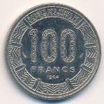Габон, 100 франков (1984 г.)