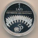 Латвия, 1 лат (1995 г.)