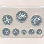 Белиз, Набор монет (1974 г.)