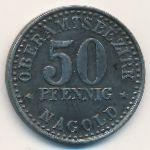 Нагольд., 50 пфеннигов (1920 г.)