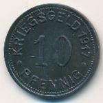 Мюнстер., 10 пфеннигов (1917 г.)