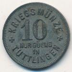 Тутлинген., 10 пфеннигов (1917 г.)