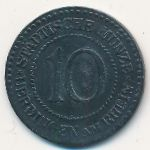 Юберлинген., 10 пфеннигов (1917 г.)