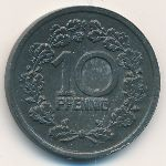 Фохвинкель., 10 пфеннигов (1918 г.)