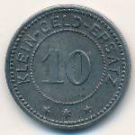 Ванген-им-Алльгой., 10 пфеннигов (1918 г.)