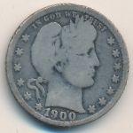 США, 1/4 доллара (1900–1909 г.)