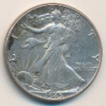 США, 1/2 доллара (1942–1945 г.)