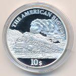 Острова Кука, 10 долларов (2008 г.)