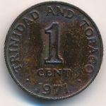 Тринидад и Тобаго, 1 цент (1966–1971 г.)