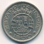 Португальская Индия, 1 эскудо (1958 г.)