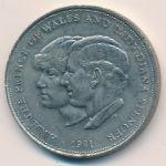 Великобритания, 25 новых пенсов (1981 г.)
